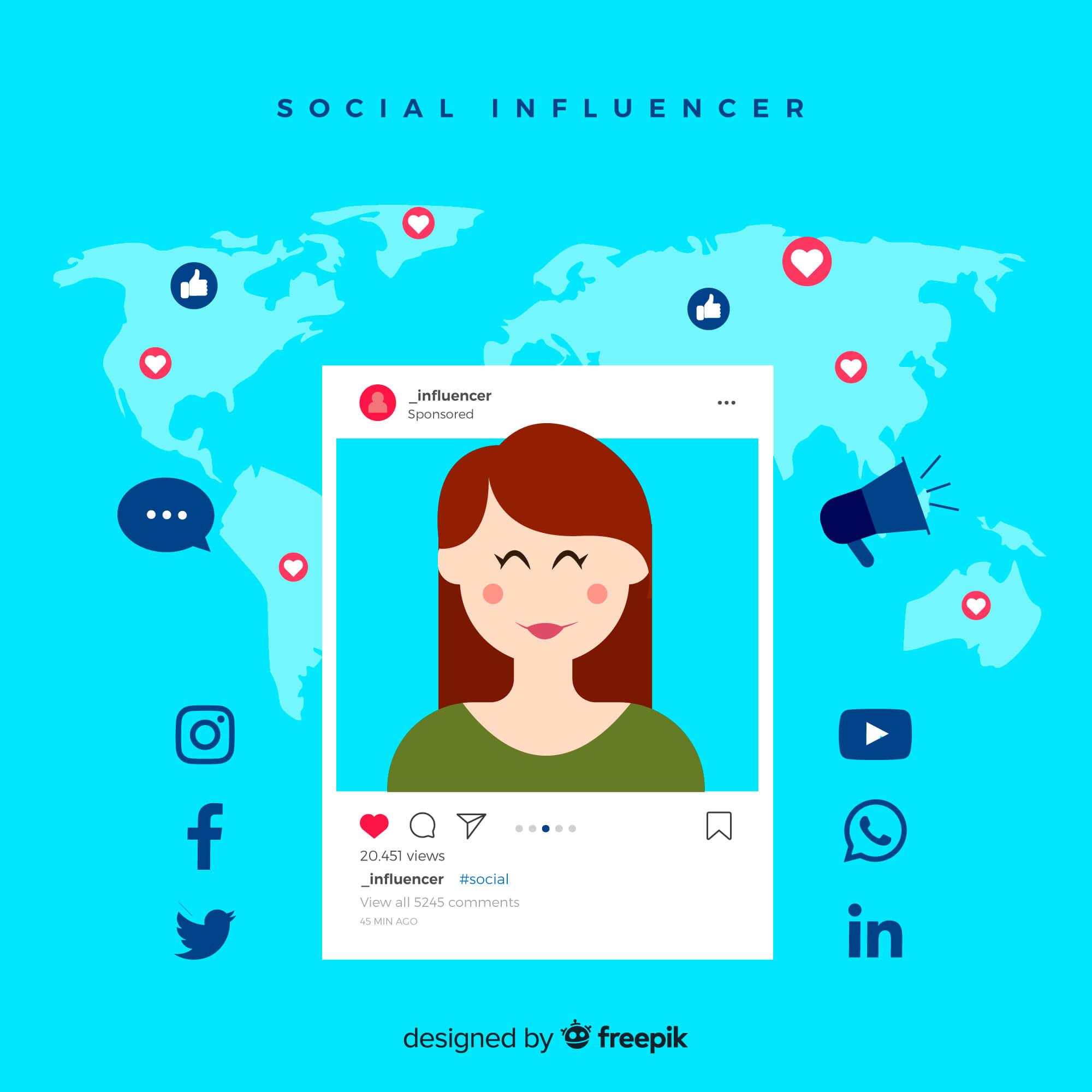 Influencer Instagram Aufnahme